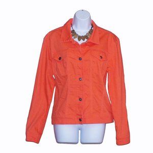 NWOT Ethyl Denim Jacket